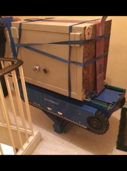 Transport d'objet lourd